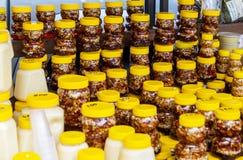 Серия опарников меда Altai разных видов известного стоковые фото