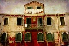 серия открыток Италии Стоковая Фотография RF