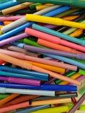 серия отметок цвета Стоковое фото RF