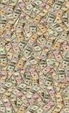 Серия долларов США наличных денег на заднем плане Стоковое Изображение