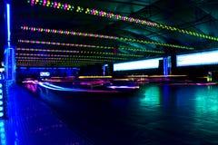 серия парка движения автомобилей бампера занятности Стоковые Фото
