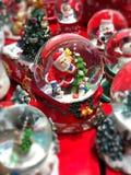 Серия подарка рождества для продажи в фестивале рождества Стоковое Изображение