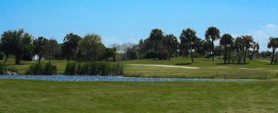 Серия поля для гольфа Стоковые Изображения