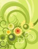 серия предпосылки флористическая Стоковая Фотография RF