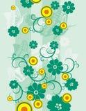 серия предпосылки флористическая Стоковое Изображение