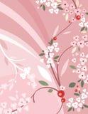 серия предпосылки флористическая Стоковое Фото