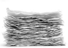 серия рециркулированная бумагой Стоковое фото RF