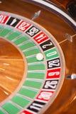 серия рулетки покера обломоков казино Стоковая Фотография