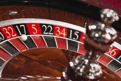 серия рулетки покера обломоков казино Стоковые Фотографии RF
