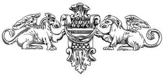 Серия - сбросы XIX века Киева Стоковые Изображения RF