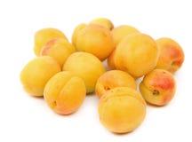 Серия свежих абрикосов  Стоковые Фото