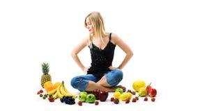 серия свежих фруктов Стоковая Фотография