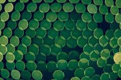 Серия светов запачканных зеленым цветом Стоковая Фотография RF