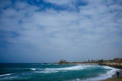 Серия Святой Земли - порт 5 Caesarea Стоковые Изображения