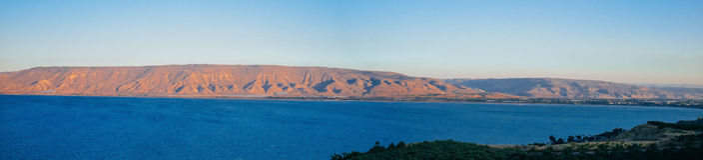 Серия Святой Земли - море Galilee#3 Стоковое Фото