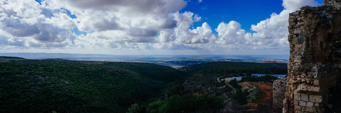Серия Святой Земли - национальный парк крепости am ` Yehi Стоковые Фото