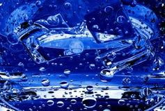 серия сини blebs Стоковая Фотография RF
