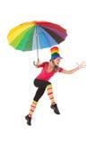 Серия спорта: Смешная радуга Стоковая Фотография