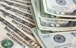 серия США долларов дела предпосылки Стоковые Изображения RF