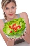 серия уклада жизни салата шара здоровая Стоковая Фотография