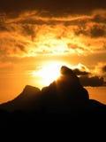 серия 1227 горы стоковые фото