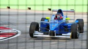 серия 2011 lucas jk auer Азии участвуя в гонке Стоковое Изображение RF