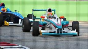 серия 2011 nabil jk jeffri Азии участвуя в гонке Стоковые Фотографии RF