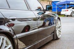 Серия BMW автомобилей, немецкий баварский изготовитель Стоковое Изображение RF