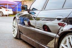 Серия BMW автомобиля, немецкий баварский изготовитель Стоковое Изображение