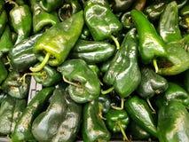 серия chilies для того чтобы подготовить завалки Стоковое Изображение RF