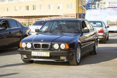 серия e34 BMW 5 Стар-автомобиля Стоковые Фото