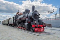 Серия Ea локомотива пара в музее Стоковые Фотографии RF
