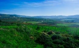 Серия Holyland - более низкая Галилея Panorama#5 Стоковое Фото