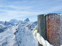 серия landsacpe alps Стоковые Фото