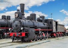 Серия Ov локомотива пара Стоковые Изображения