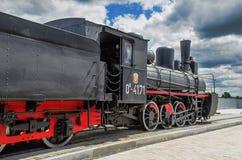 Серия Ov локомотива пара Стоковое Изображение RF