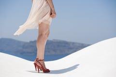 Серия Santorini Греции Стоковые Фото