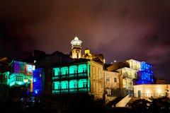 Серная ноча Тбилиси ai ванны Стоковое Изображение RF