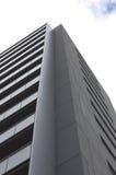 Серое изолированное здание города Стоковая Фотография RF