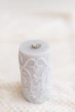 Серое кольцо свечи Стоковое фото RF