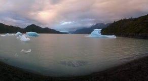 Серое озеро Стоковое фото RF