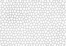Серой безшовной треснутая мозаикой геометрическая предпосылка вектора Стоковая Фотография RF