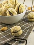 Серповидные печенья Стоковые Фотографии RF