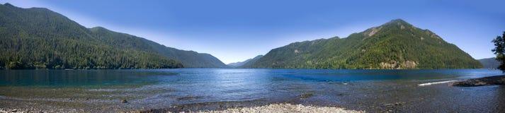 серповидный лоток озера стоковое изображение