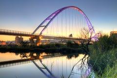 Серповидный мост луны стоковая фотография rf