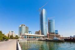 Серповидный проект развития, Баку Стоковое Фото