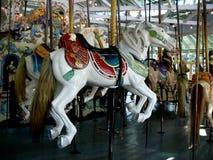 Серповидный Carousel Looff парка Стоковые Фото
