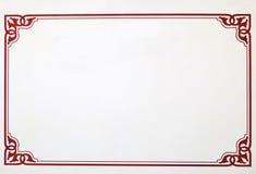 сертификат граници стоковые изображения