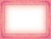 сертификат граници Стоковая Фотография