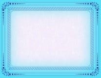 сертификат граници Стоковое фото RF